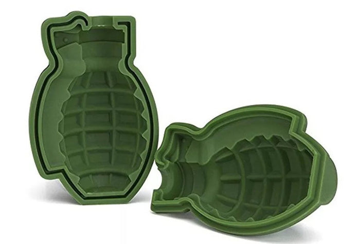 Grenade Shape Whiskey Ice Cube Mold