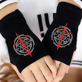 FMA Fingerless Gloves ! - AnimeUltra