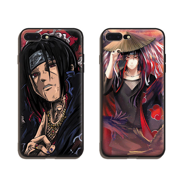 Itachi Uchiha Soft Silicone iPhone Cases !