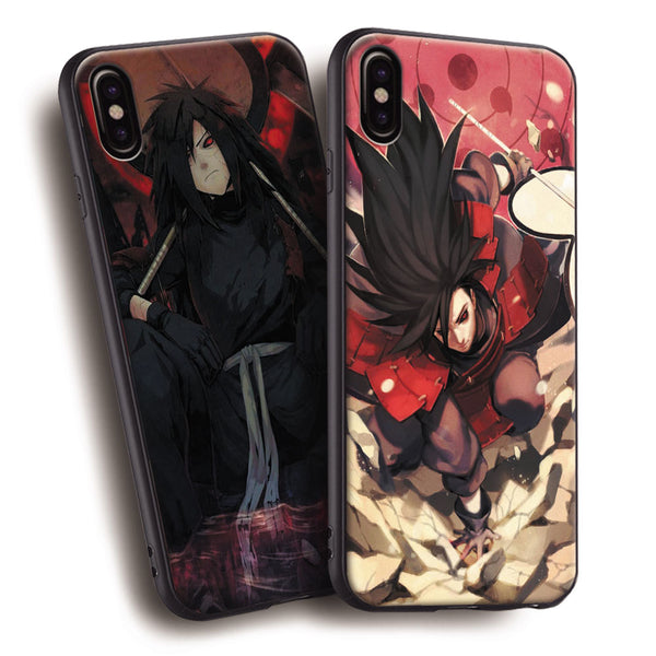 Madara Uchiha Soft Silicone iPhone Cases !