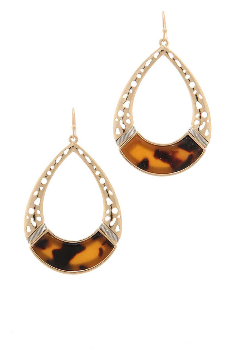 Be Adorned - Teardrop Earrings Topaz