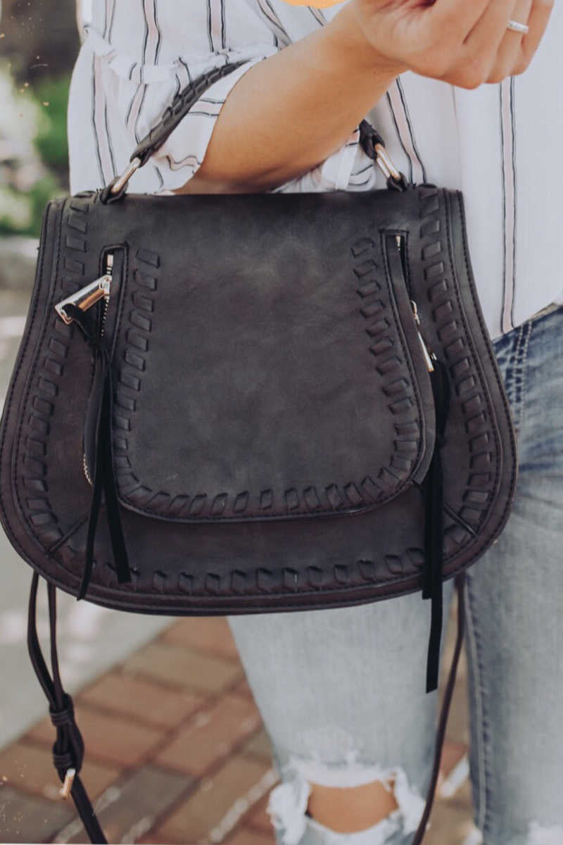 Carried Away - Saddle Bag Black