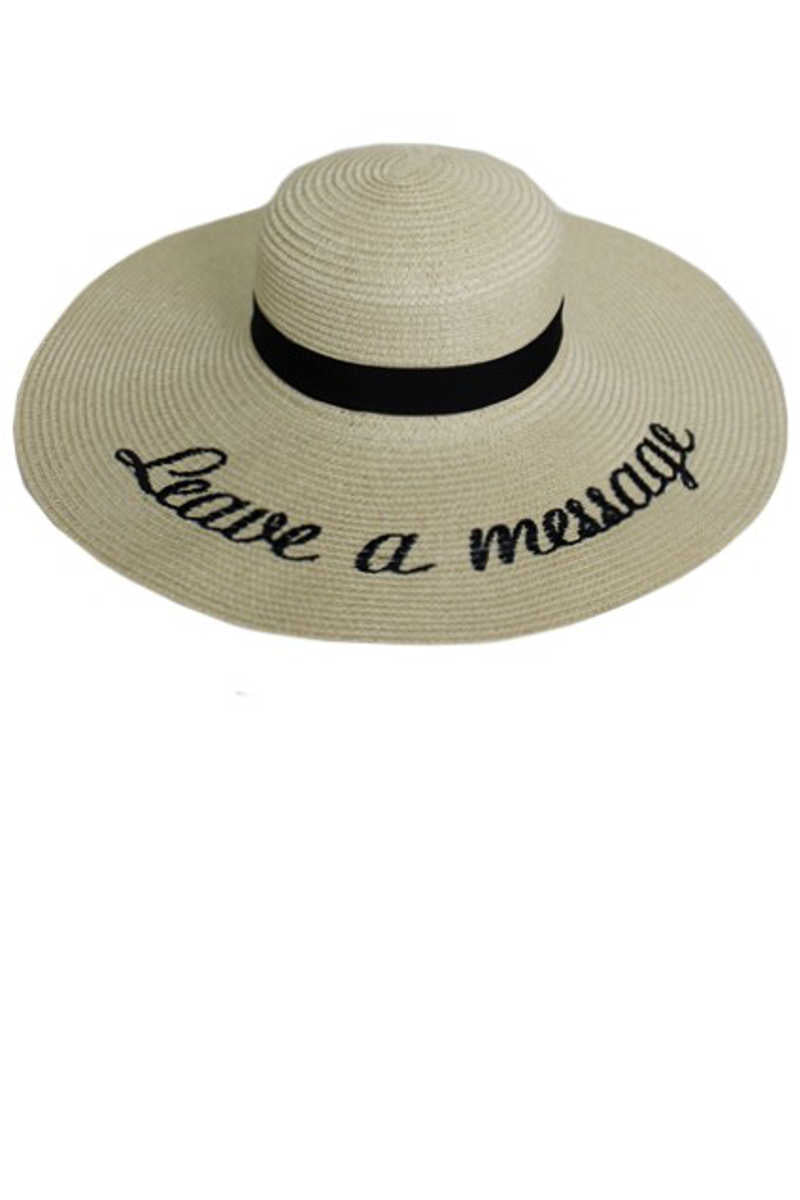 For the Sun of it! - Leave A Message Sun Hat