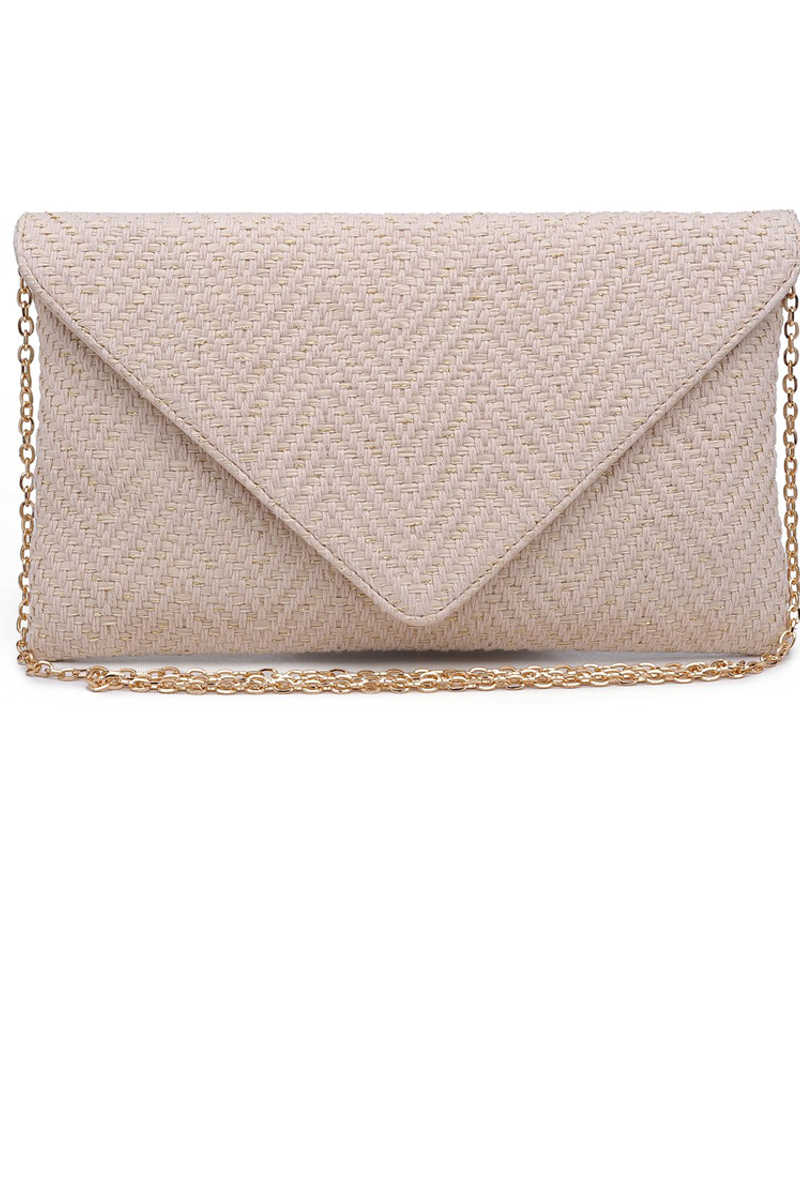 Full of Wishes - Ivory Clutch