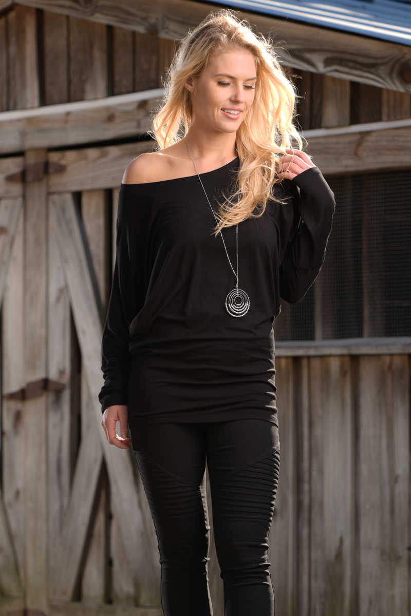 Get the Inside Scoop - Dolman Shirt