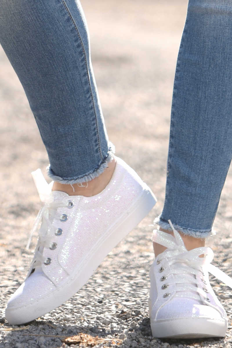 Going Laces - Glitter Sneakers