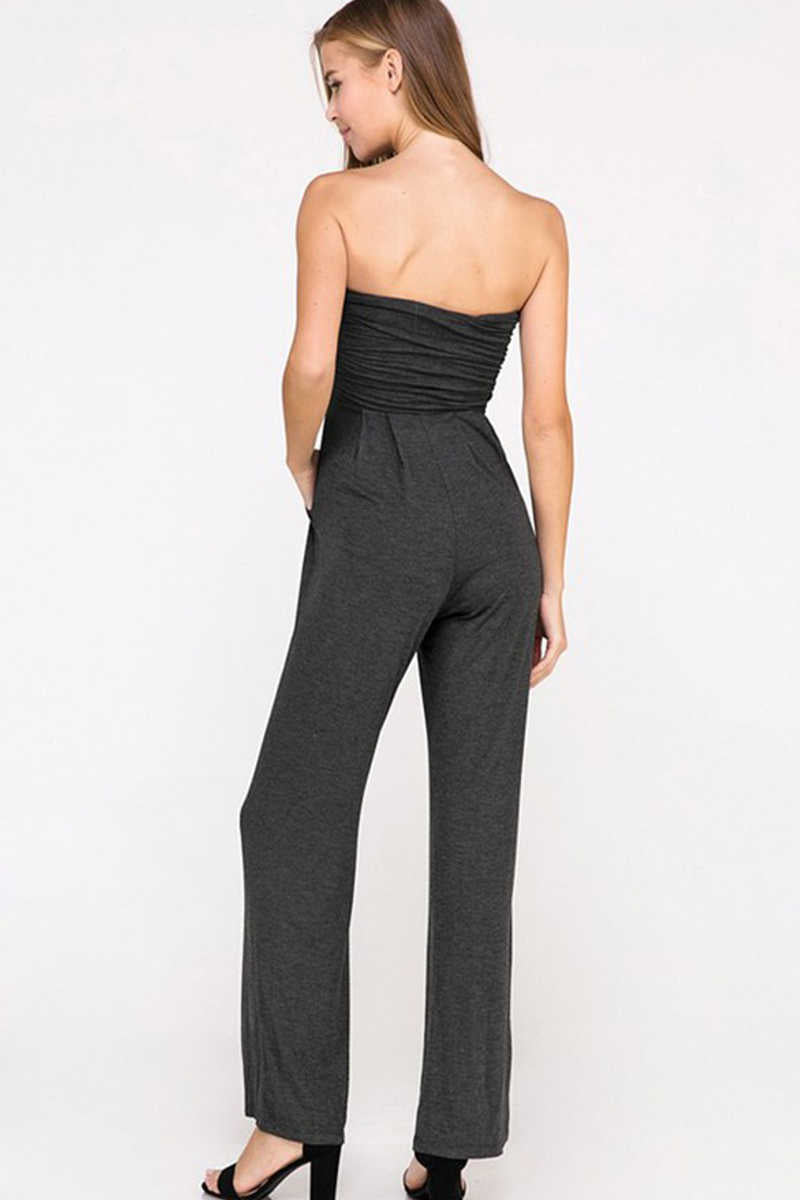 Grand Statements - Ruched Jumpsuit