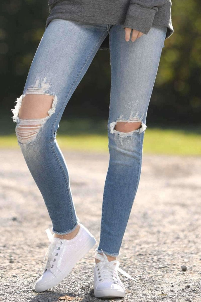 Cotton Road - Destroyed Jeans