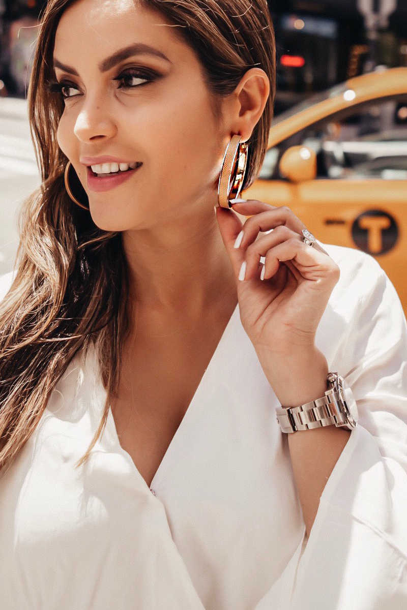In The Loop - Hoop Earrings