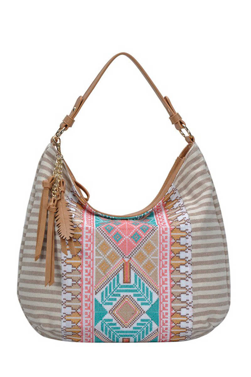 It's In The Bag! - Aztec Canvas Bag