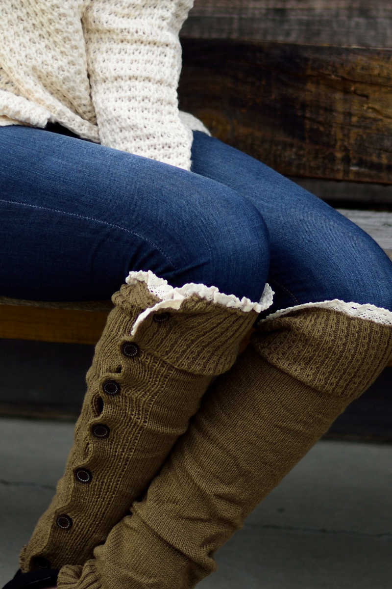 Knits All Yours Leg Warmers