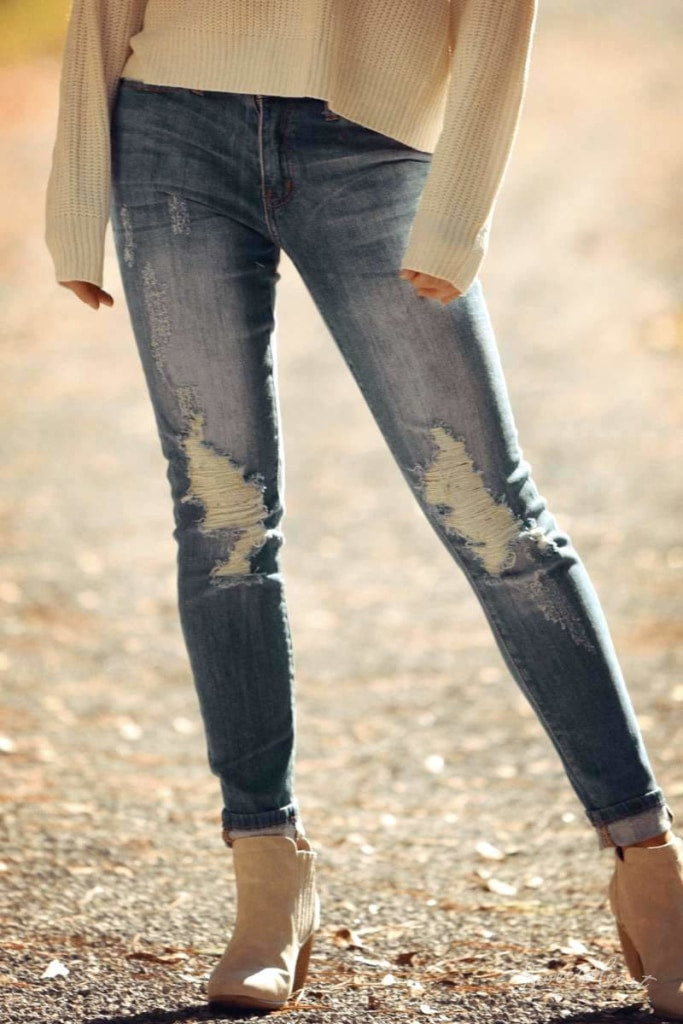 Rebel Heartz Skinny Jeans