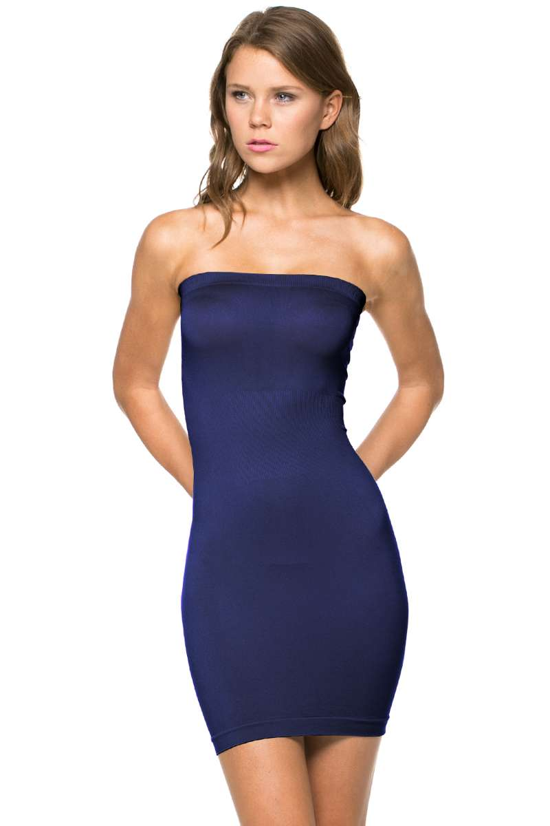 Perfect Silhouette - Strapless Tube Dress