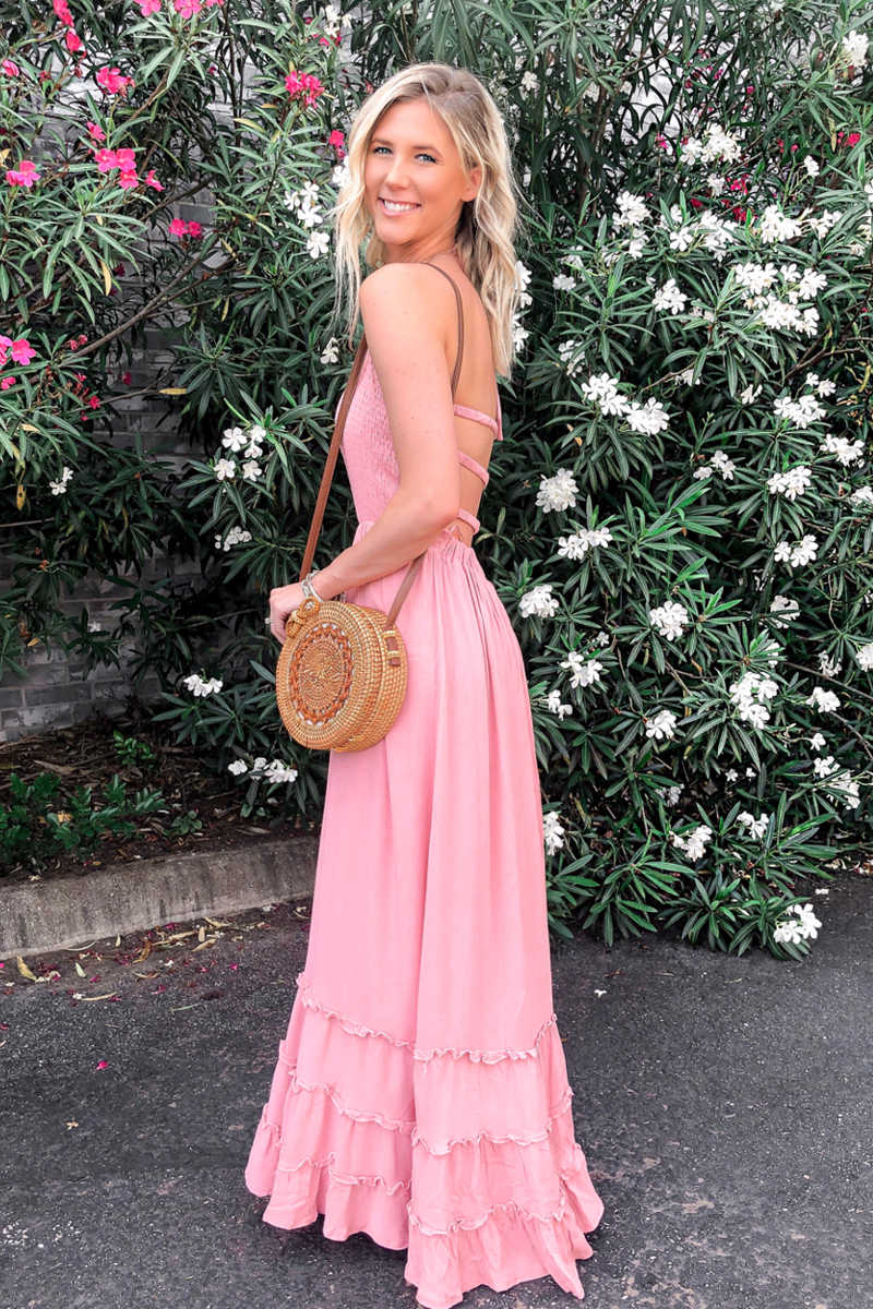 Sugar And Spice - Maxi Dress Pink