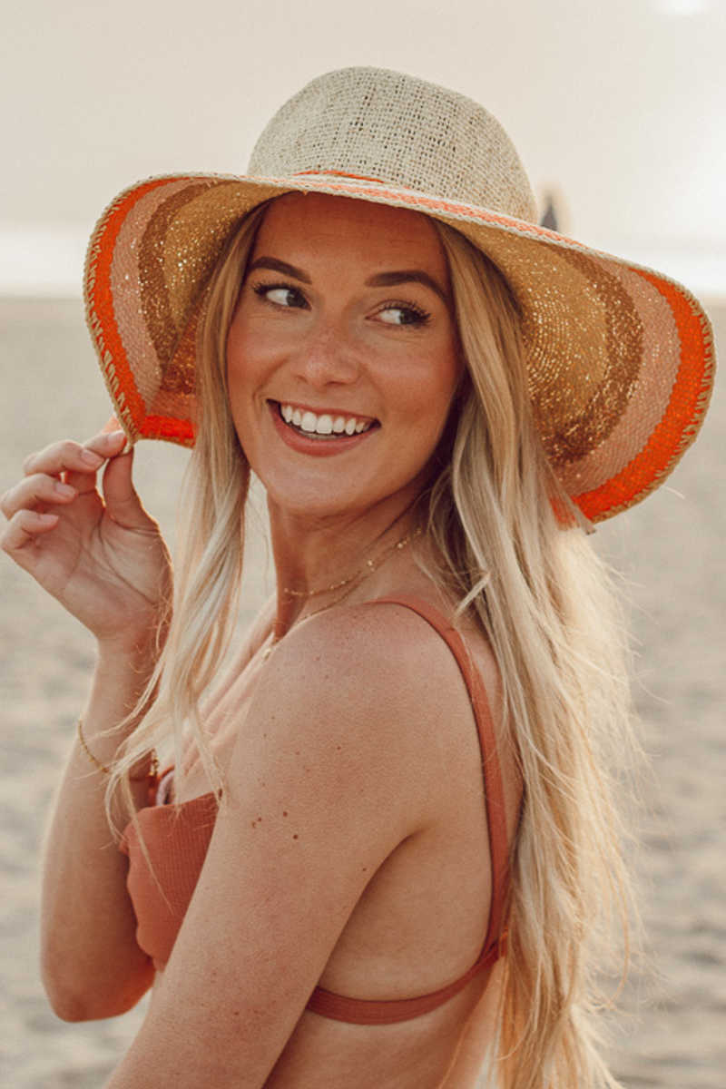Sun Worshiper Hat - Orange