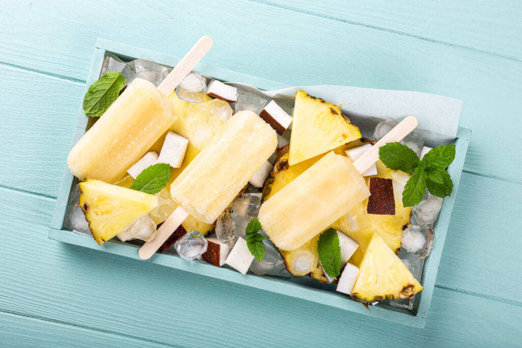 A Popin' Happy Hour: How To Make The Best Pina Colada Popsicles