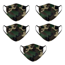 Load image into Gallery viewer, Camo Woodland Mask