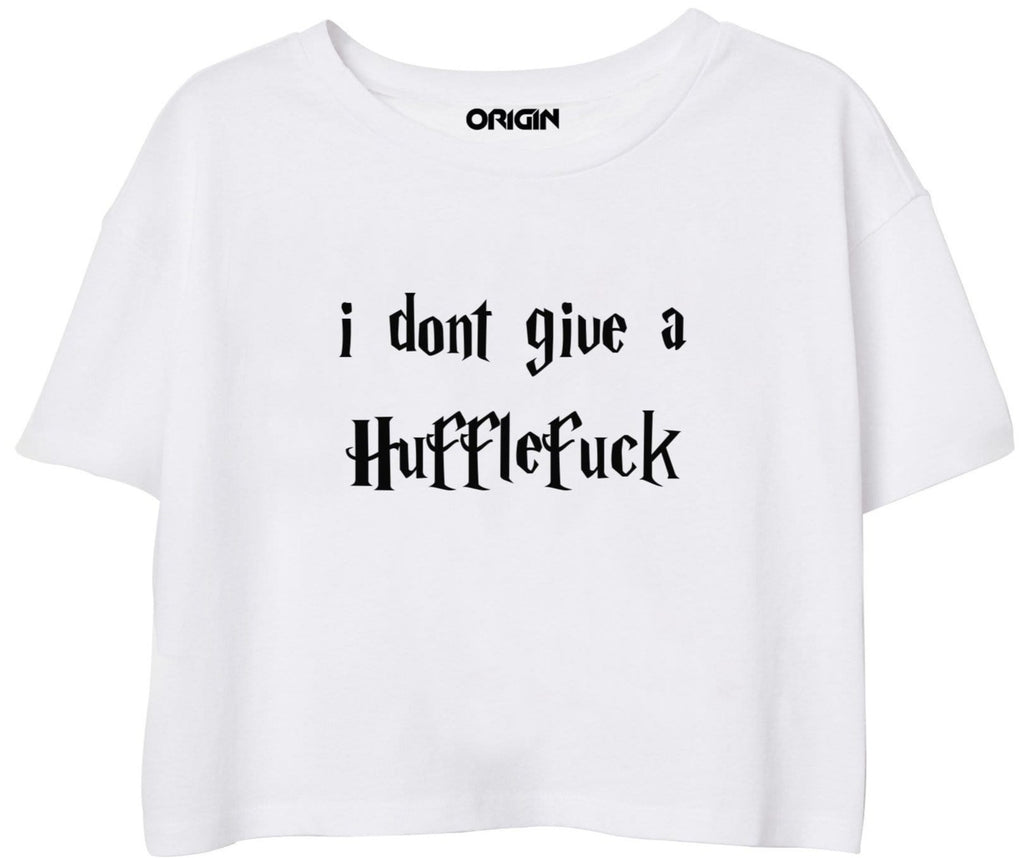 Don't Give A Hufflefuck Crop Top
