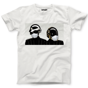 Daft Punk Ft. Covid Crew Neck