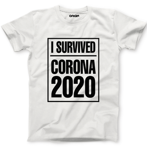 I Survived Corona Crew Neck