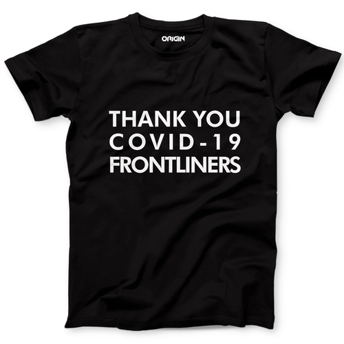 Thank You Frontliner  Crew Neck