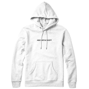 ABCDEFUCKOFF Hoodie