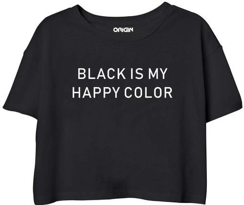 Black Happy Color