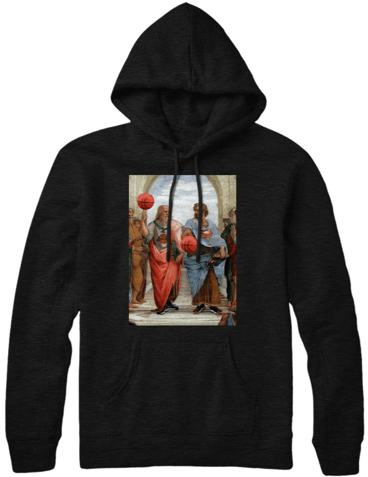 Greek X Basketball Hoodie