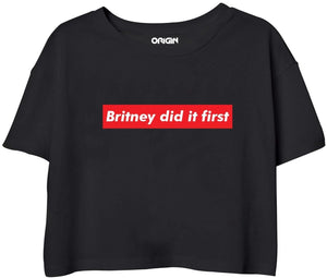 Britney Did It First Crop Top
