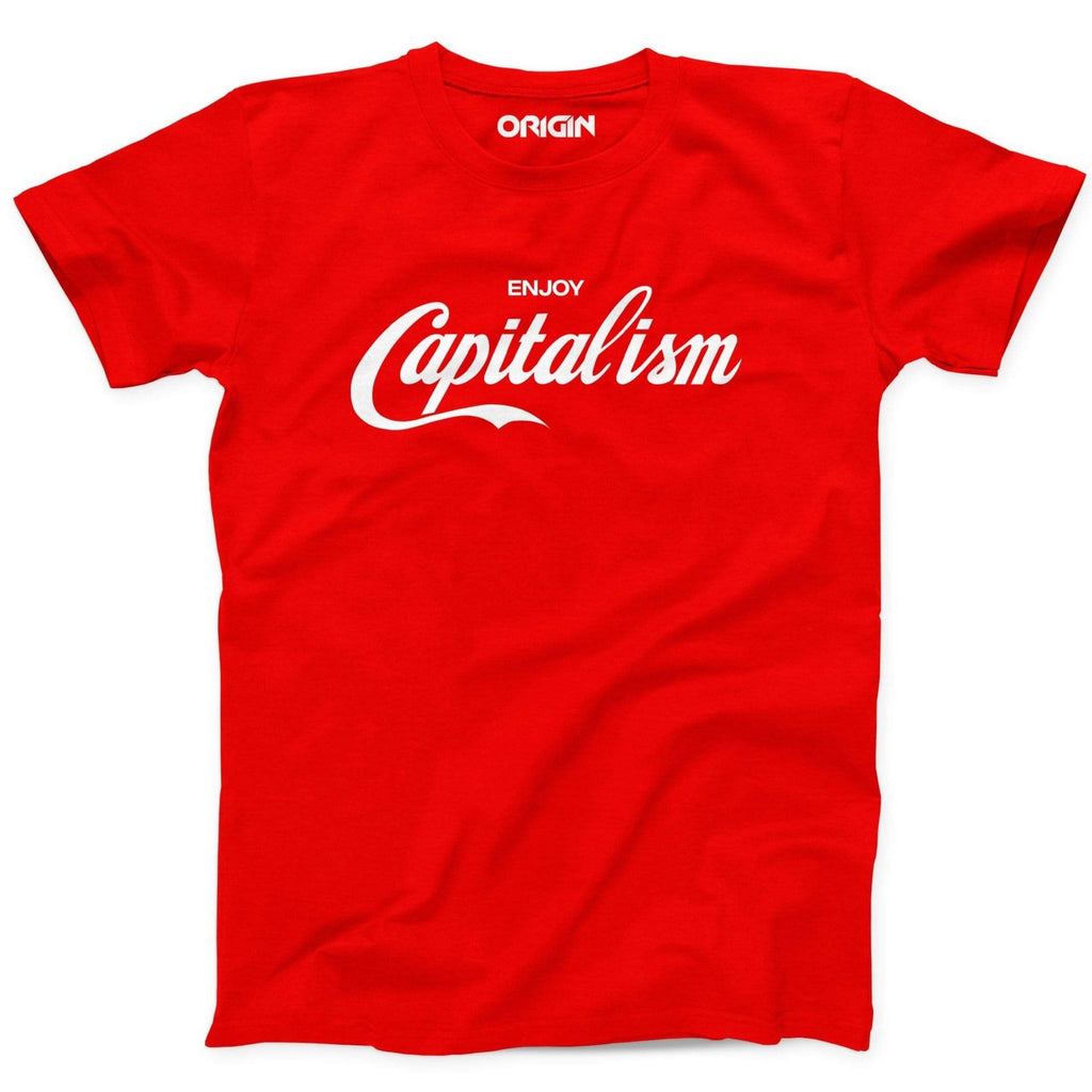 Enjoy Capitalism Crew Neck