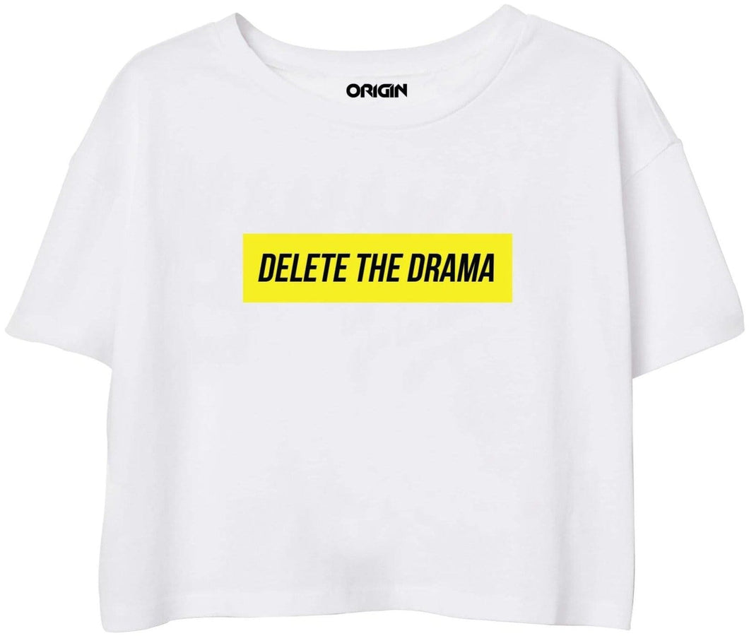 Delete the Drama Crop Top