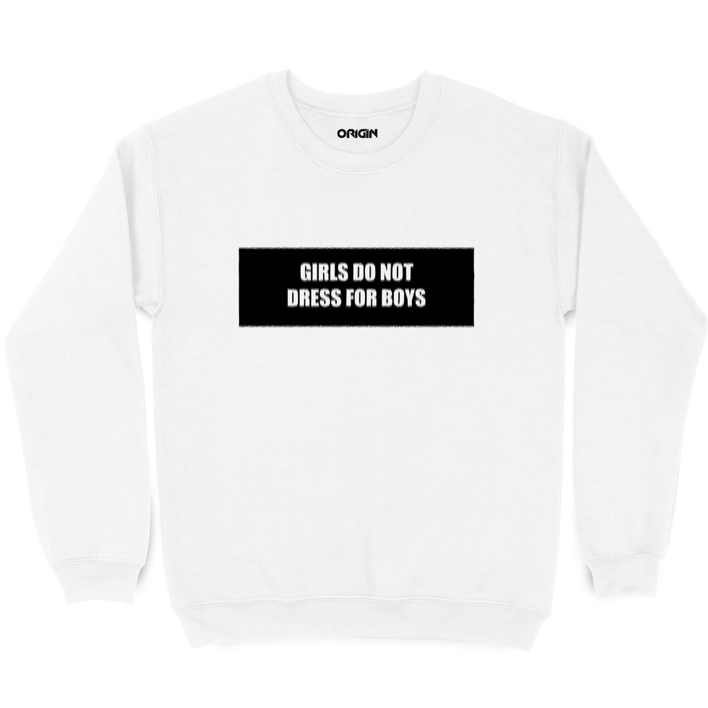 Dont Dress For Boys Sweatshirt