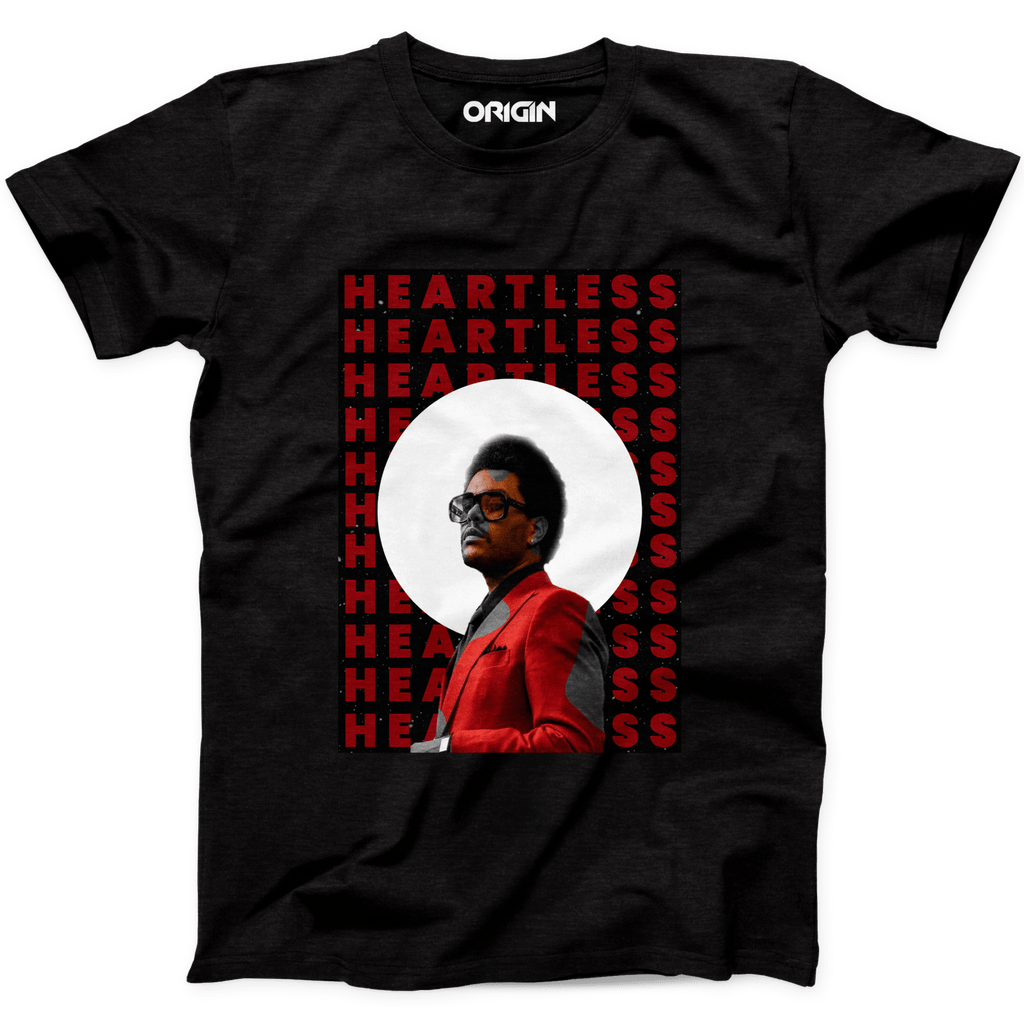 This image has an empty alt attribute; its file name is heartlessblacktshirt_1024x.png