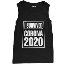 Load image into Gallery viewer, I Survived Corona Tank Top