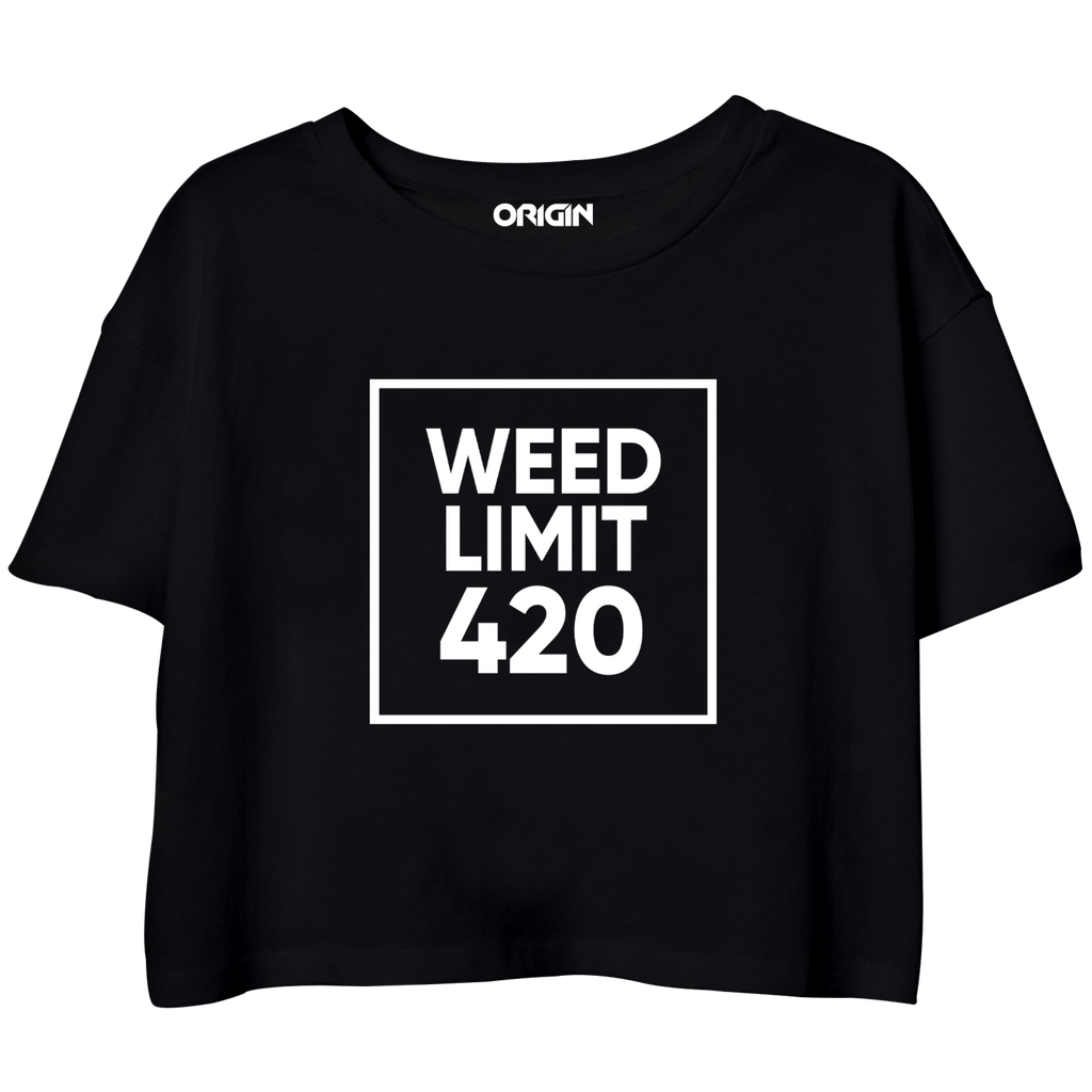 Weed Limit Crop Top