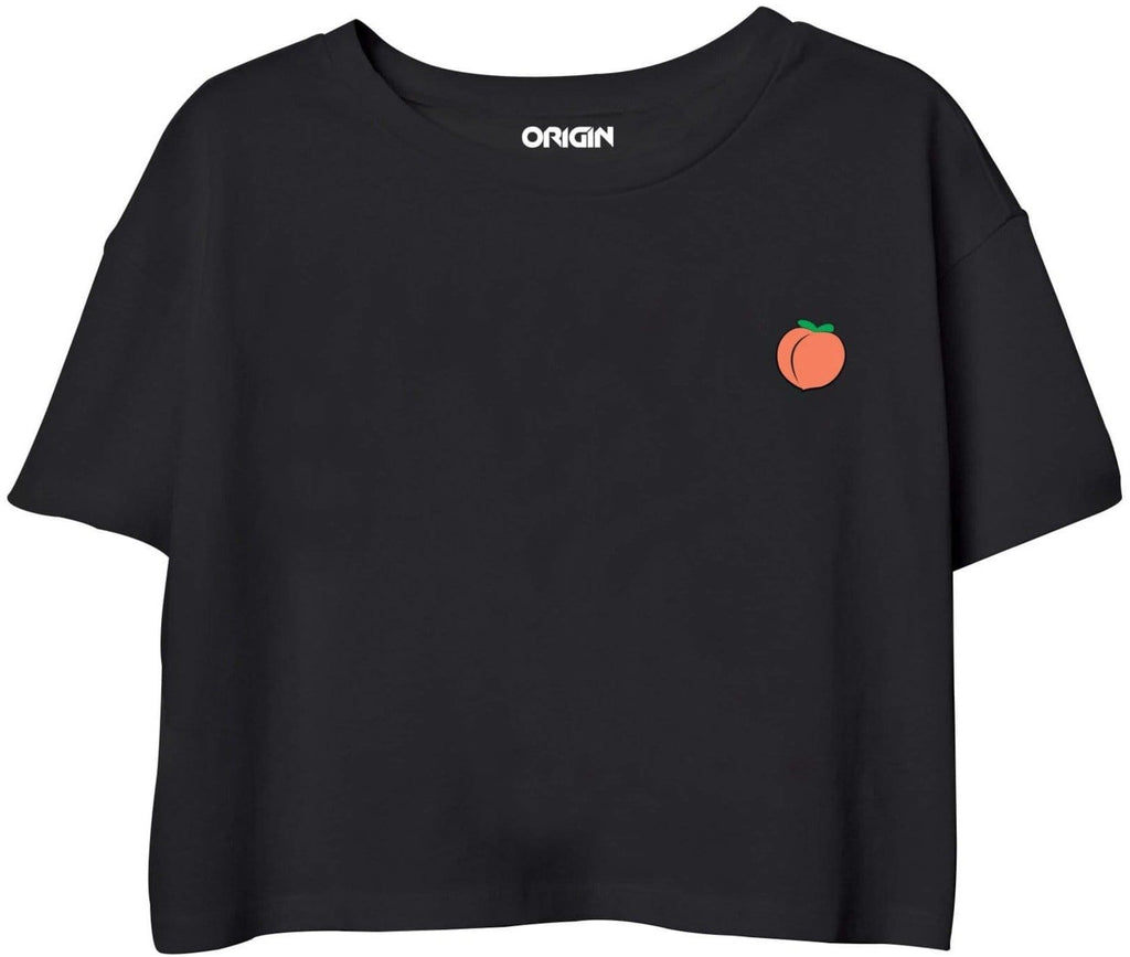 Pocket Peach Crop Top