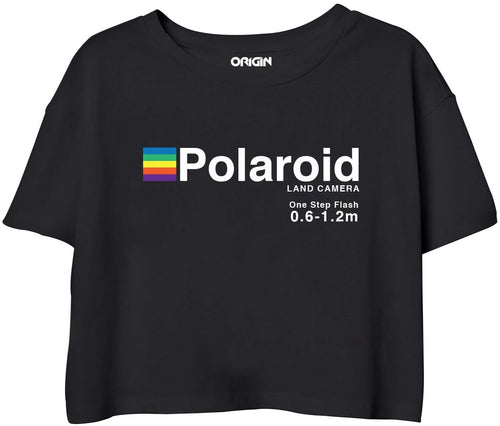Polaroid Crop Top