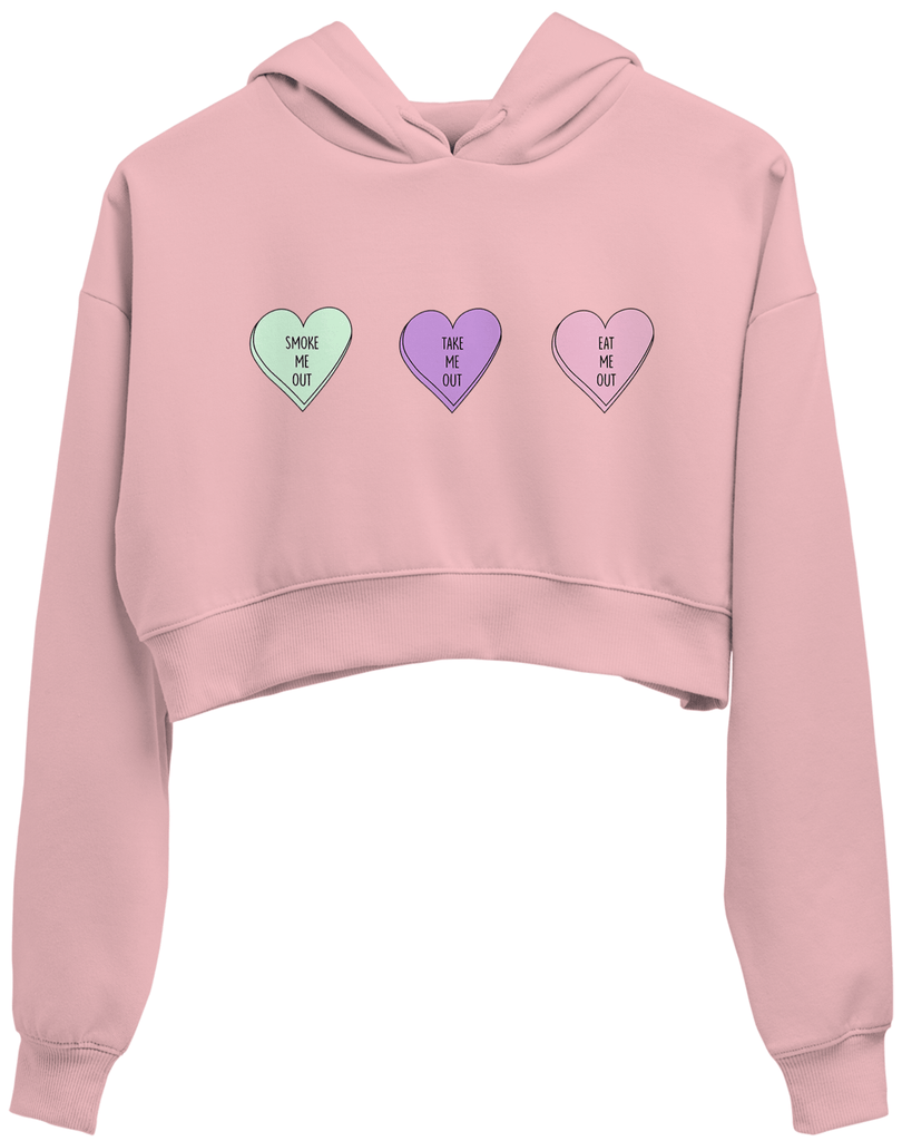 Good Relationship Crop Hoodie