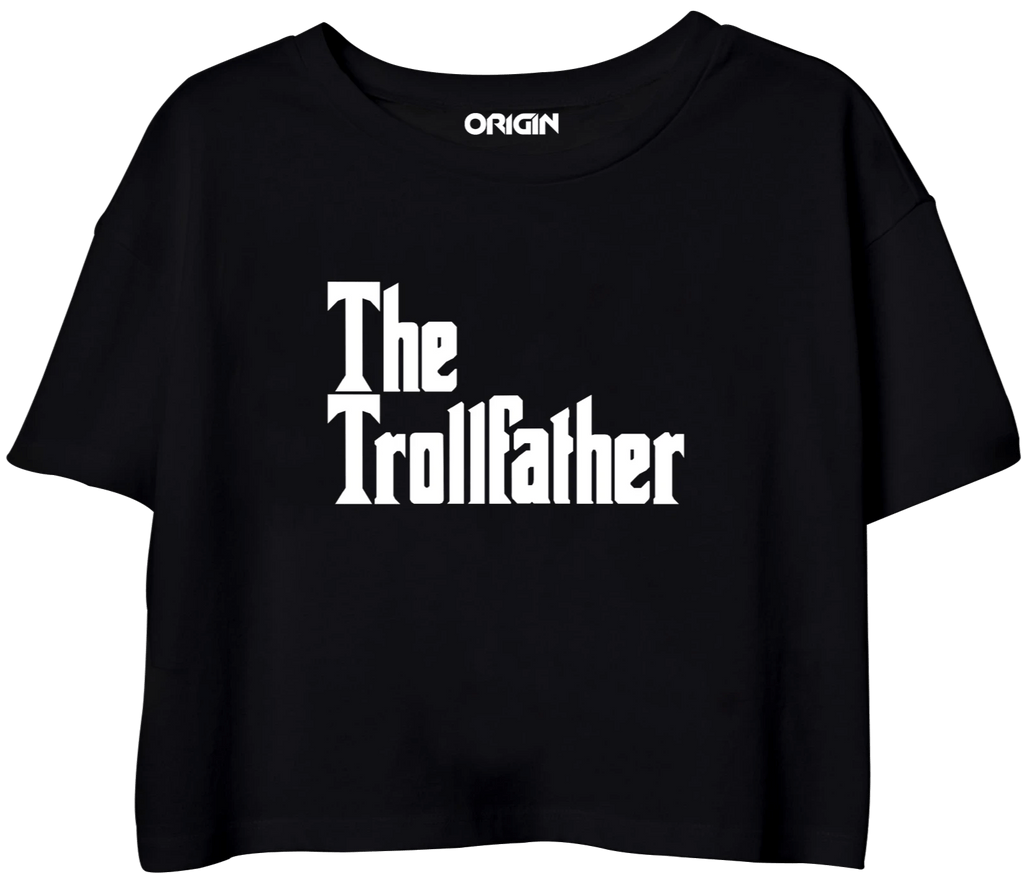 The Trollfather Crop Top