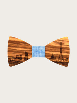 Noeud Papillon en Bois Homme - City Paris