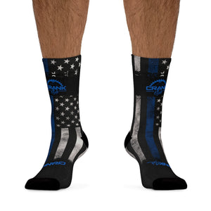 "Blueline ""Police"" 3/4 MTB Socks"