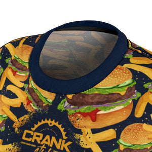Cheesy Blue Burger & Fries MTB Jersey