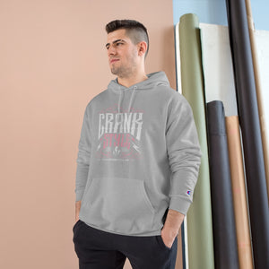 CS Vintage Pink & White Design on Champion Hoodie
