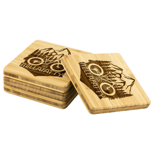 RollaFatty Bamboo Coaster