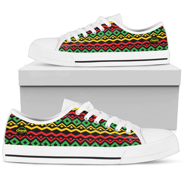 Ladies Rasta Lowtops