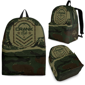 Camo Emblem Backpack