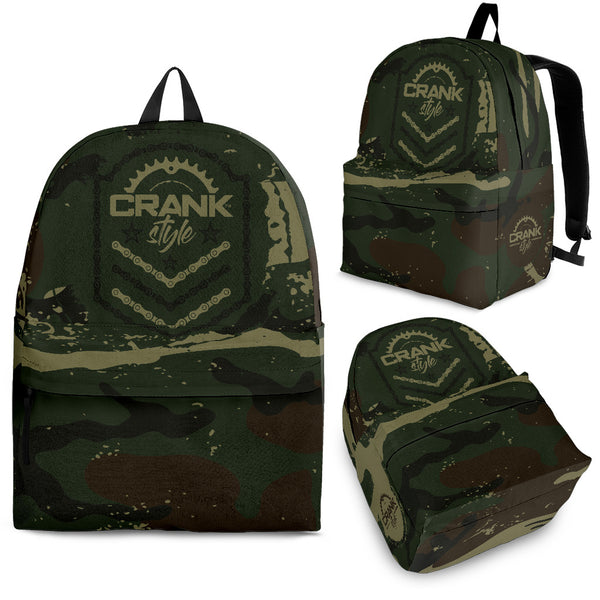 Camo2 Emblem Backpack