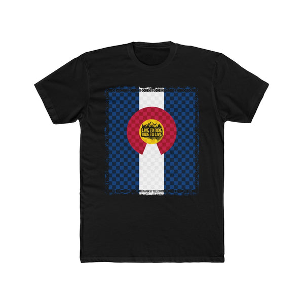 L2R Colorado Check Tee