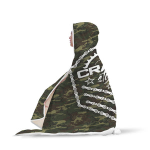 CS Emblem Camo Hooded Blanket