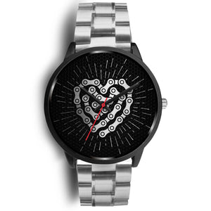 Chain Linked Heart Watch